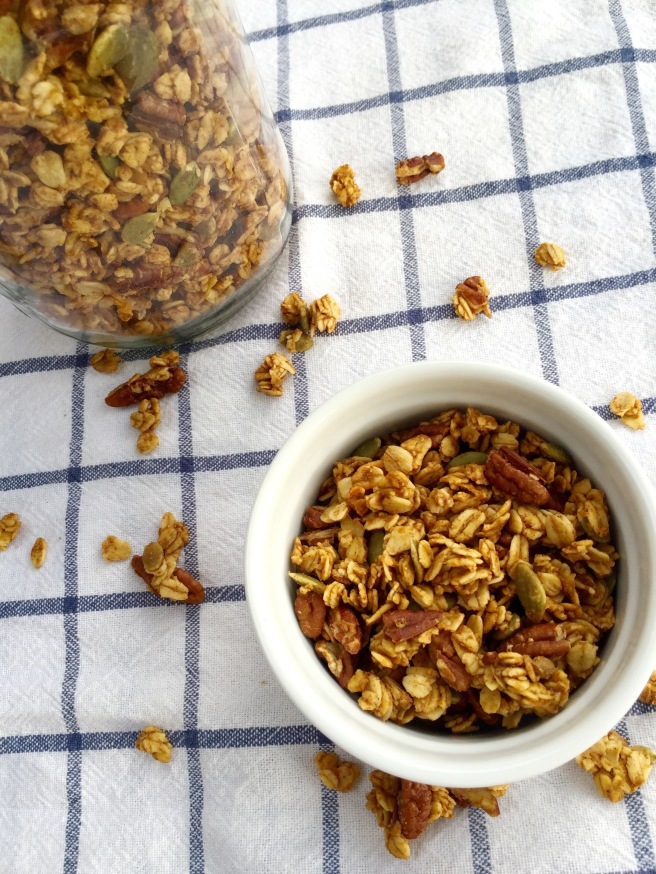 Fall Pumpkin Maple Granola