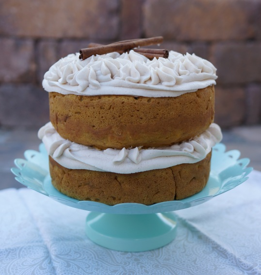 Vegan Coconut Pumpkin Cake