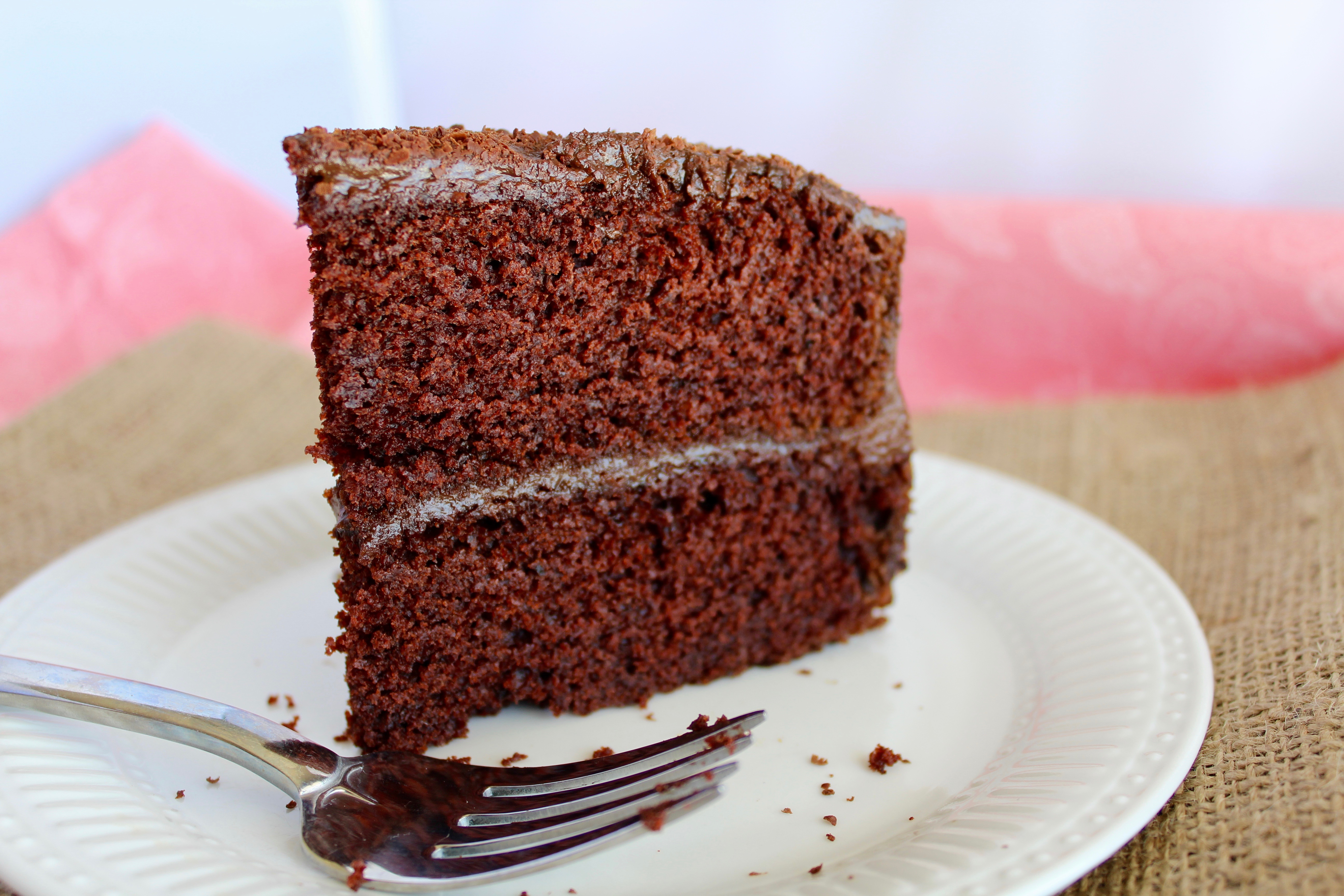 Double Layer Chocolate Cake with Chocolate Avocado Frosting | Nuts ...