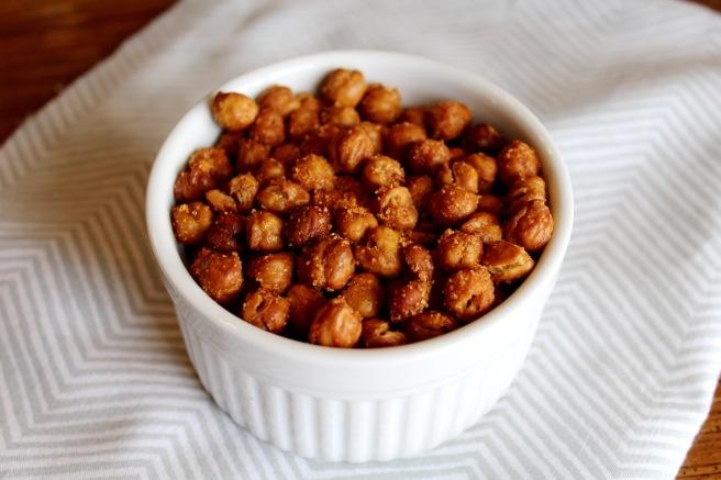how to make crispy roasted chickpeas