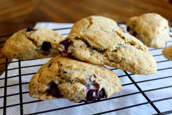 Easter Blueberry Scones