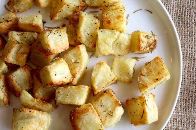 Crispy Rosemary Roasted Potatoes