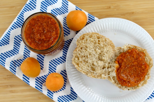 Apricot Chia Seed Jam