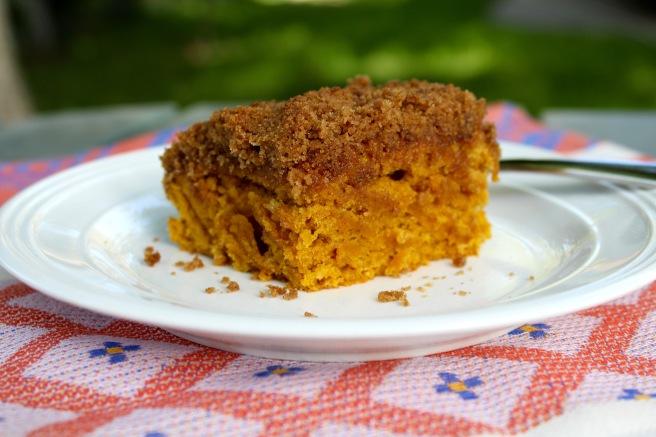 Pumpkin Cinnamon Crumb Cake